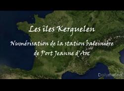 Numerisation 3D de Port Jeanne d'Arc sur Kerguelen