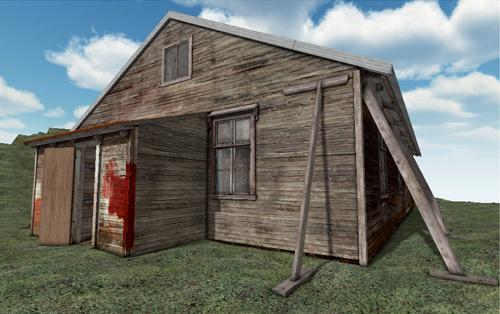 kerguelen 3D/ maison