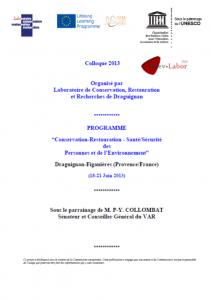 colloque 2013
