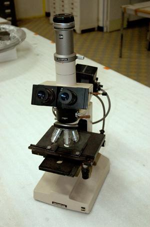 microscope métallographique