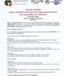 Annexe 2 Programme Journée 1